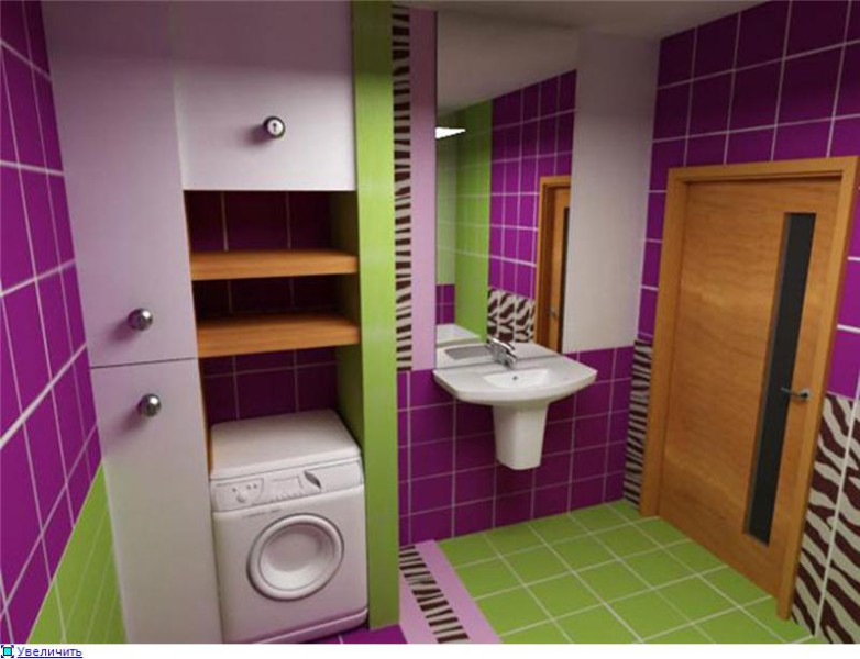 Дизайн ванной комнаты совмещенной с туалетом 5
